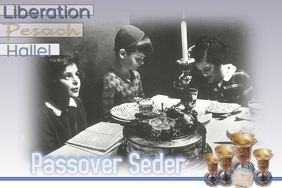 Passover Seder/Jewish Holiday Cartaz template