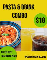 pasta & drink combo