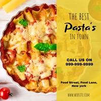 Pasta Instagram Post template