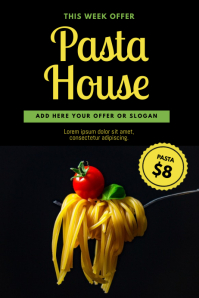 Pasta Flyer Design Template