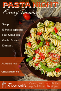 Pasta Night Special Flyer Template