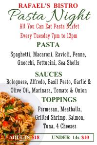 Pasta Night Template