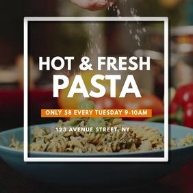 Pasta promotion Video AD Design instagram