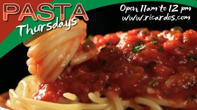 Pasta Restaurant Video Template