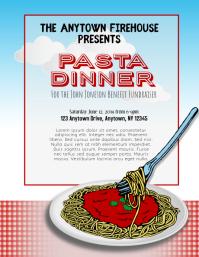Pasta Spaghetti Dinner Fundraiser