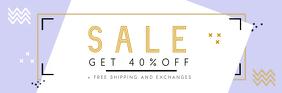Pastel Sale Email Header