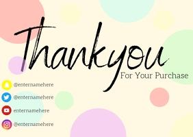 pastel thank you card TJ Cartolina template