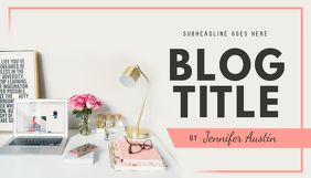 Pastel Themed Blog Header template