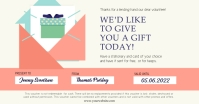 Pastel Themed Gift Voucher