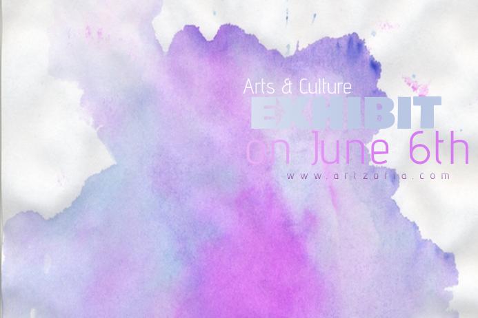 Pastels Colorful Paint Simple Modern Event Club Venue Art
