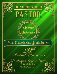 Pastor 20th Anniversary