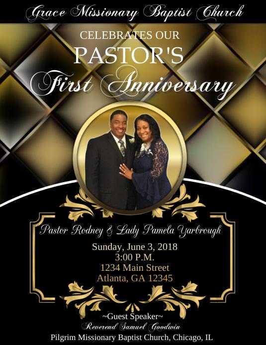 Pastor Anniversary