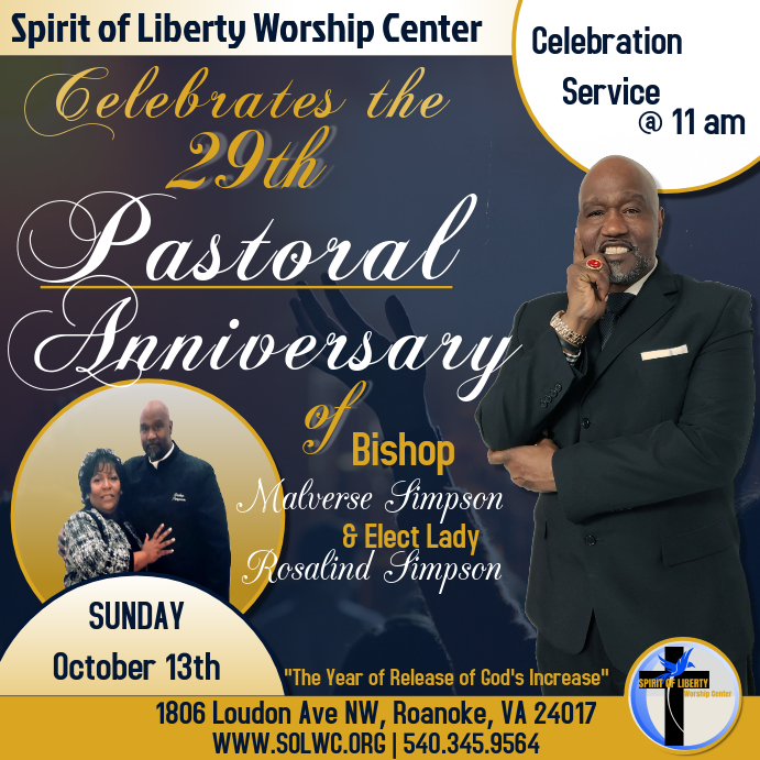 Pastor Anniversary Service