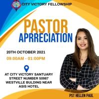Pastor Appreaciation Message Instagram template