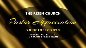pastor appreciation announcement
