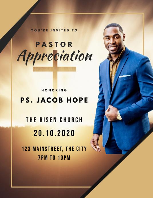 Pastor Appreciation Church Service