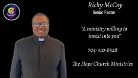 Pastor Business Card