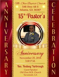 Pastor Celebration Template