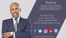 Customizable design templates for pastors business card postermywall pastors business card colourmoves
