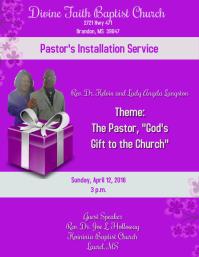 pastor's installation service