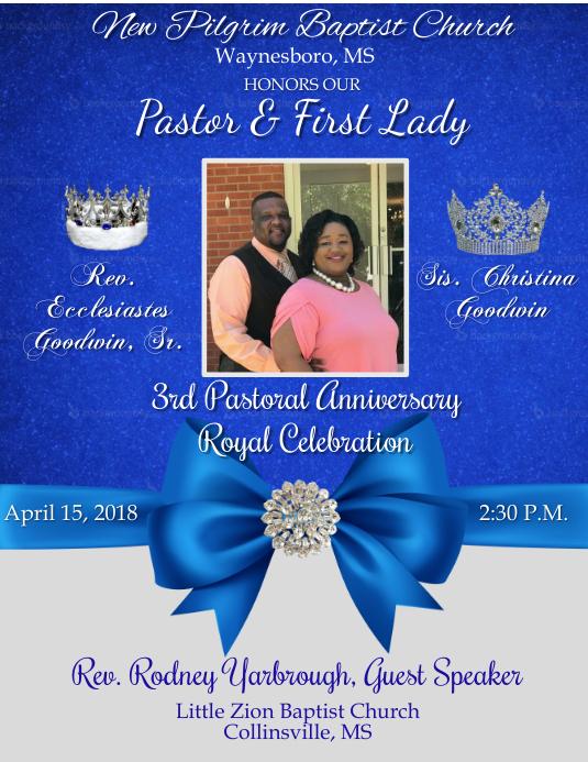 Pastoral Anniversary