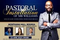 Pastoral installation Etiqueta template