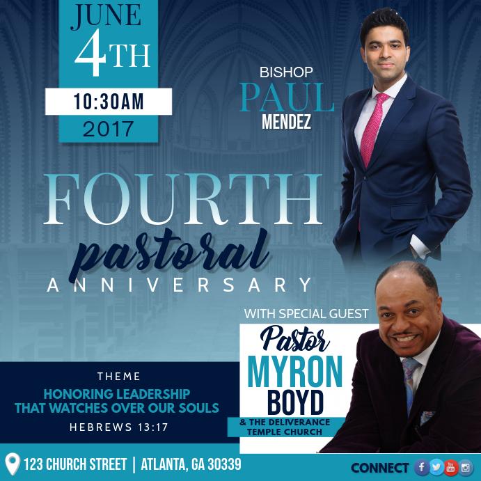 Pastors Anniversary