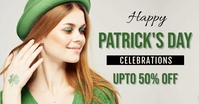Patrick's day,event Facebook 广告 template