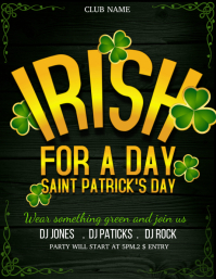 Patrick's flyers,saint Patrick's day flyers