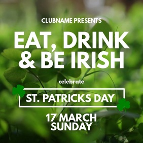 patricks day flyer