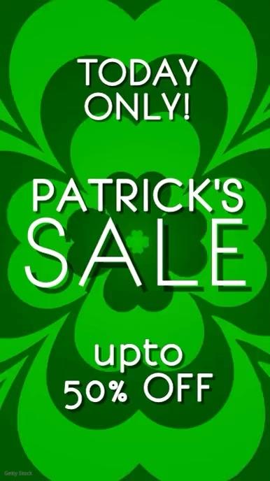 Patricks sale