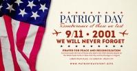 Patriot Day 9/11 Memorial Post Template Gambar Bersama Facebook