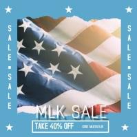 Patriotic Sale Retail Ad Pos Instagram template