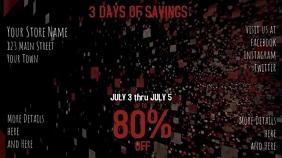 Patriotic Sales Video Advertisement