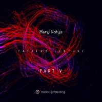 Pattern Texture Abstract Light Music CD Cover Copertina album template