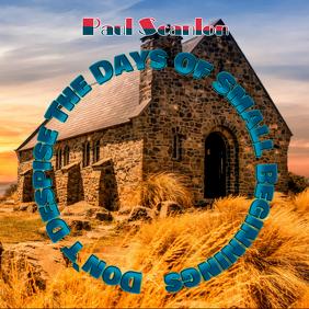 Paul Scanlon - Preaching Sampul Album template