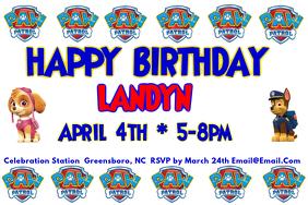 Paw Patrol Birthday Party