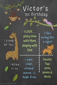 Paw Patrol Birthday Poster