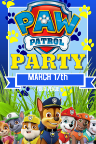 70 Paw Patrol Customizable Design Templates Postermywall