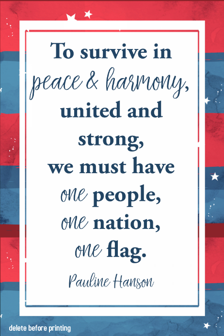 peace american flag inspirational poster flag 4th of july