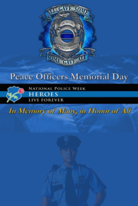 Peace Officers Day Template