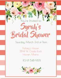 Peach Ombre Bridal Shower
