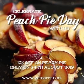 Peach pie day