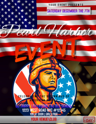 pearl harbor DAY EVENT FLYER