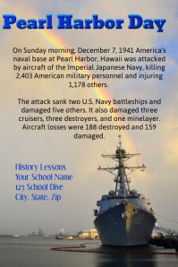 Pearl Harbor Day History Lesson