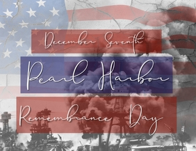 Pearl Harbor Remembrance Day Template