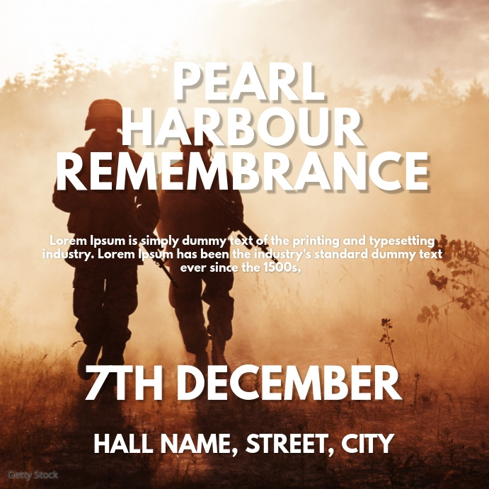 Pearl Harbour Remembrance Day