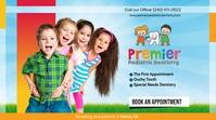 Pediatric Dentist Cover Pantalla Digital (16:9) template