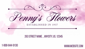 Pennys Flowers Business Card