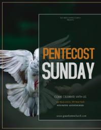 Pentecost Flyer (US Letter) template
